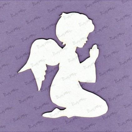 tekturka aniołek komunijny - chłopiec - Crafty Moly 635