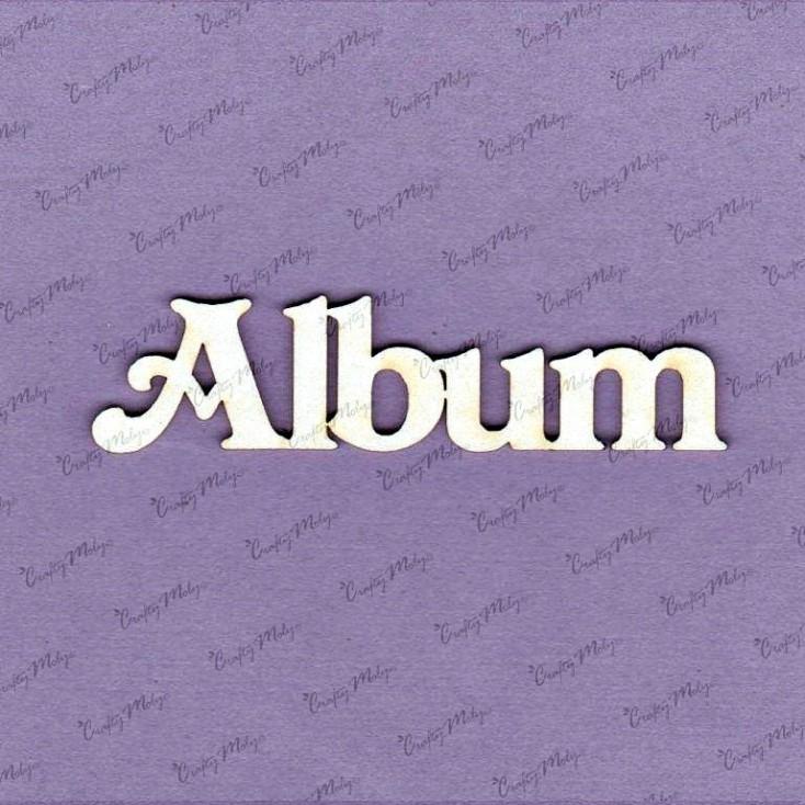 Crafty Moly - Cardboard element - Inscription - Album