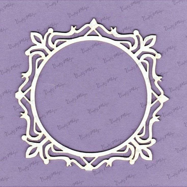 Crafty Moly - Cardboard element - Eva frame, little