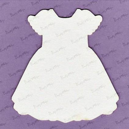 Crafty Moly - Cardboard element - Large dress - back