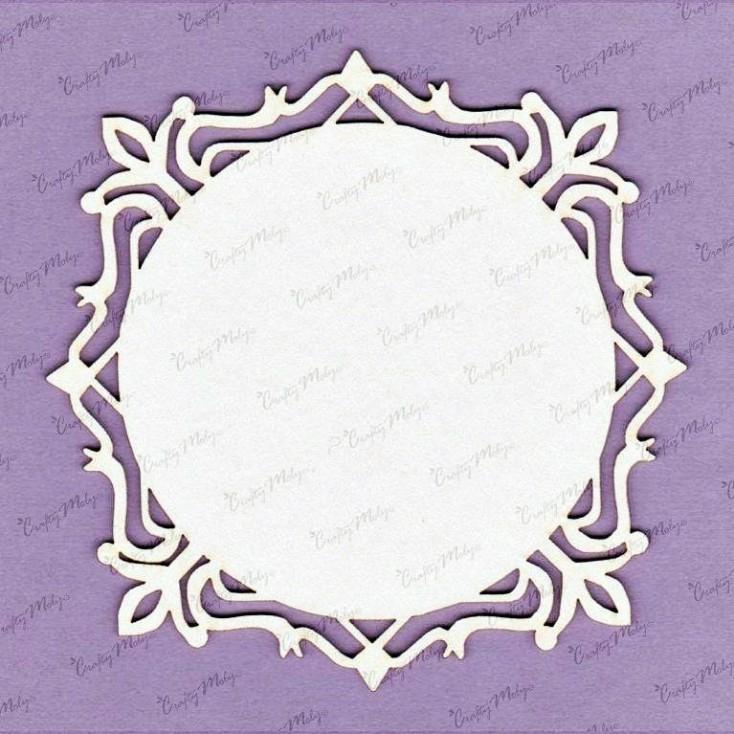 Crafty Moly - Cardboard element - Eva 2 frame, little