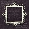 Latarnia Morska - Chipboard - Square ornamental frame