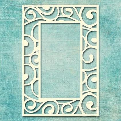Latarnia Morska - Chipboard - Rectangular frame - Wedding Collection