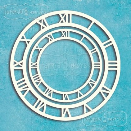 Latarnia Morska - Chipboard - Clockfaces, 2 pieces