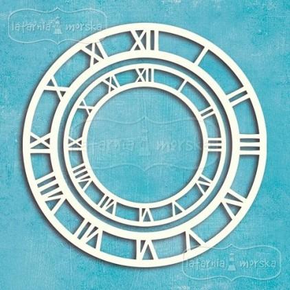 Latarnia Morska - Chipboard - Clockfaces, 2 pieces