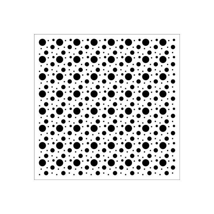 Scrapberry's - Maska, szablon 15x15cm - Bubbles
