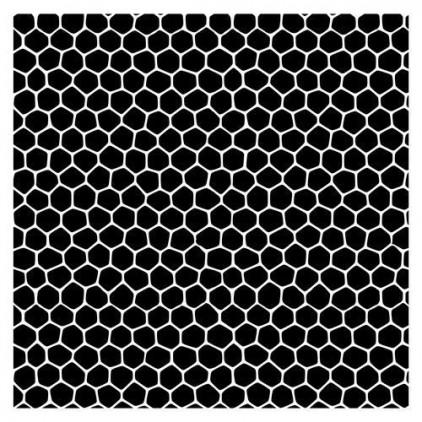 Scrapberry's - Maska, szablon 15x15cm - Tesselar pattern