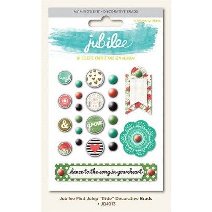 My Minds Eye - Dekoracyjne ćwieki - Mint Julep Ride