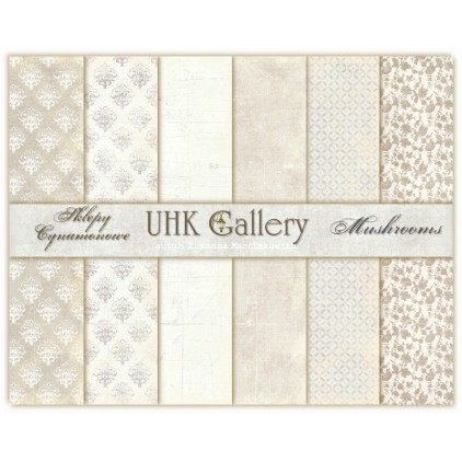 UHK Gallery - Mushrooms - Set of scrapbooking papers