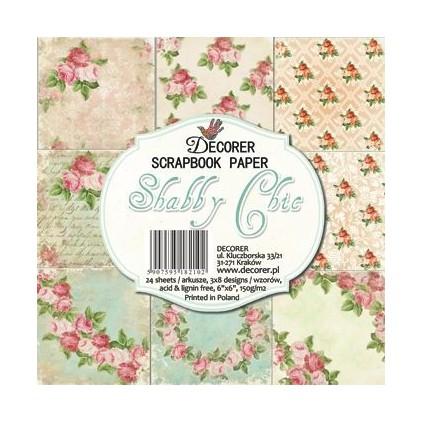 Decorer - Zestaw papierów - Shabby chic