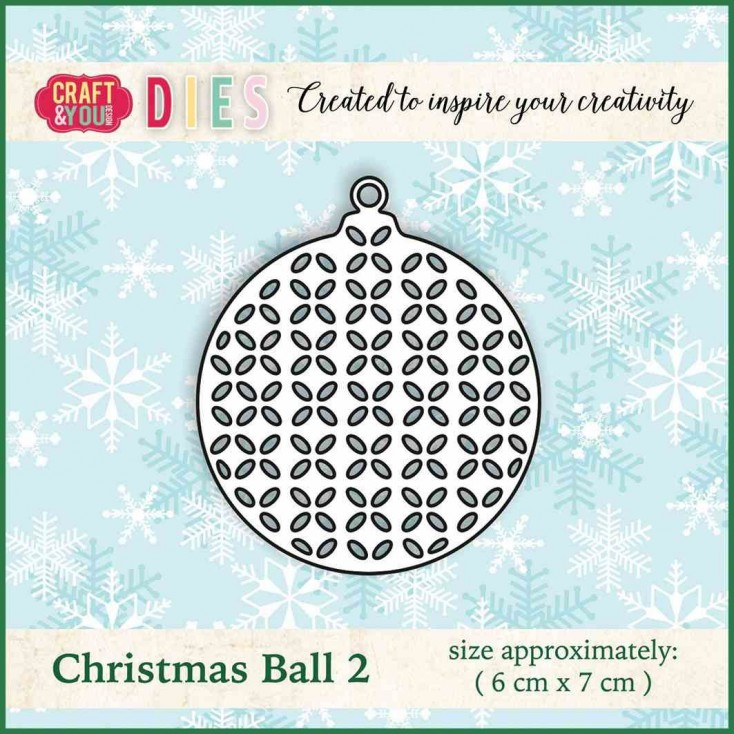 Craft and You Design Die - Christmas Ball 2