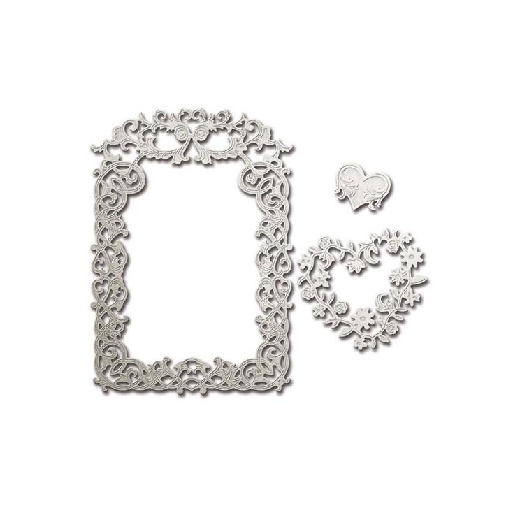 Spellbinders S5-227 - Die - Floral Affair