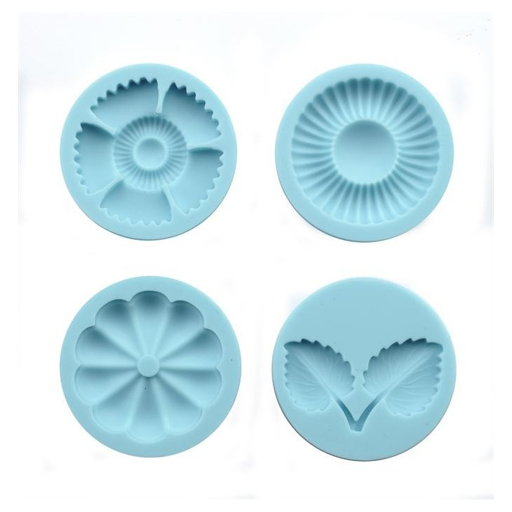Martha Stewart - Crafter's Clay Graceful Bloom Silicone Molds -