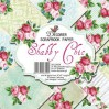 Decorer - Set of scrapbooking papers - Schabby Chic