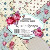 Decorer - Zestaw papierów do scrapbookingu - Rustic Roses