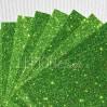 Karton brokatowy - jasnozielony