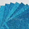 Glitter paper - turquoise