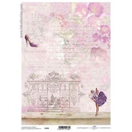 ITD Collection - Scrapbooking paper - SC089 A4