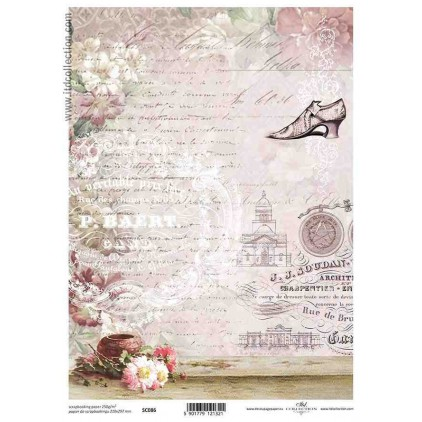 ITD Collection - Papier do scrapbookingu - SC086