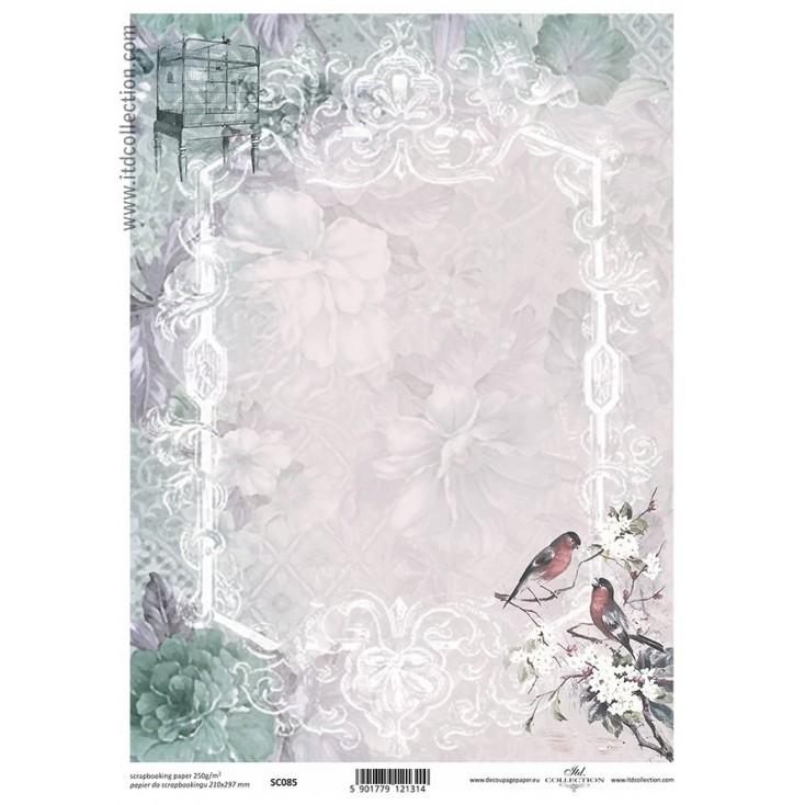 ITD Collection - Papier do scrapbookingu - SC085