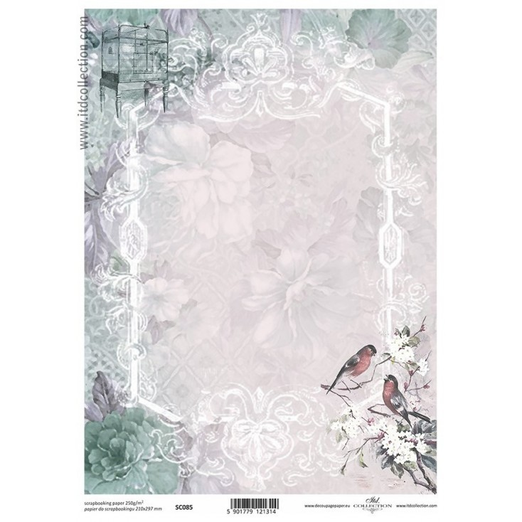 ITD Collection - Scrapbooking paper -  SC085