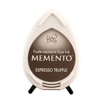 Tsukineko Memento Dew Drops - ESPRESSO TRUFFLE