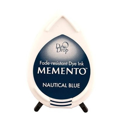Tsukineko Memento Dew Drops - NAUTICAL BLUE