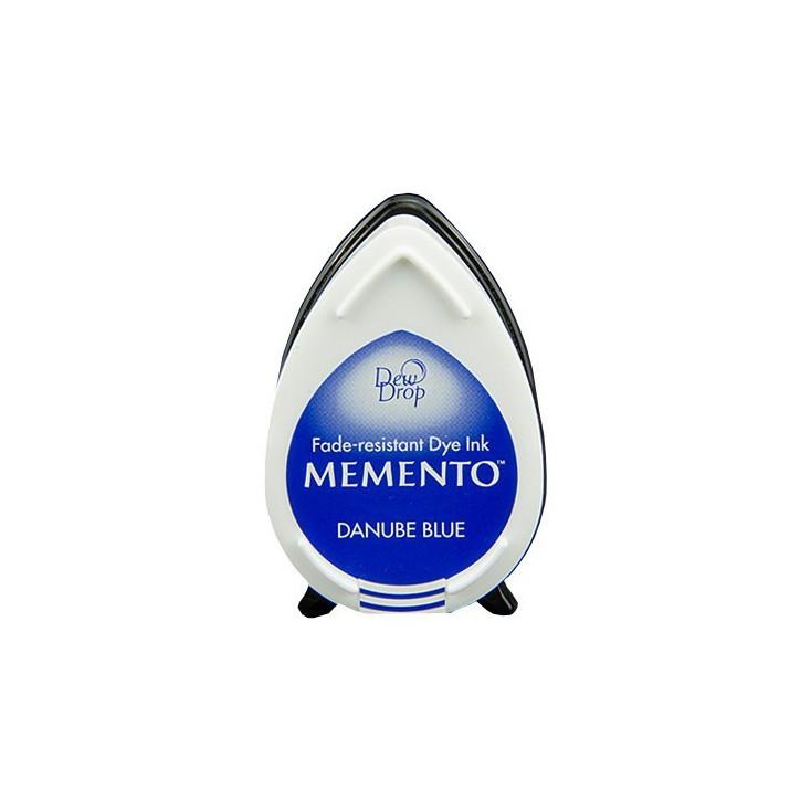Tsukineko Memento Dew Drops - Tusz - DANUBE BLUE