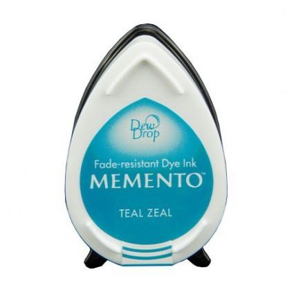 Tsukineko Memento Dew Drops - TEAL ZEAL