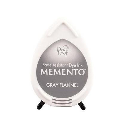 Tsukineko Memento Dew Drops - Tusz - GRAY FLANNEL
