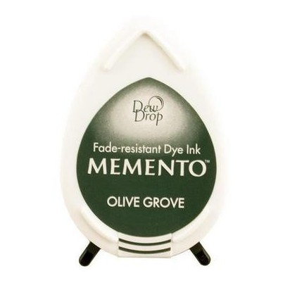 Tsukineko Memento Dew Drops - OLIVE GROVE