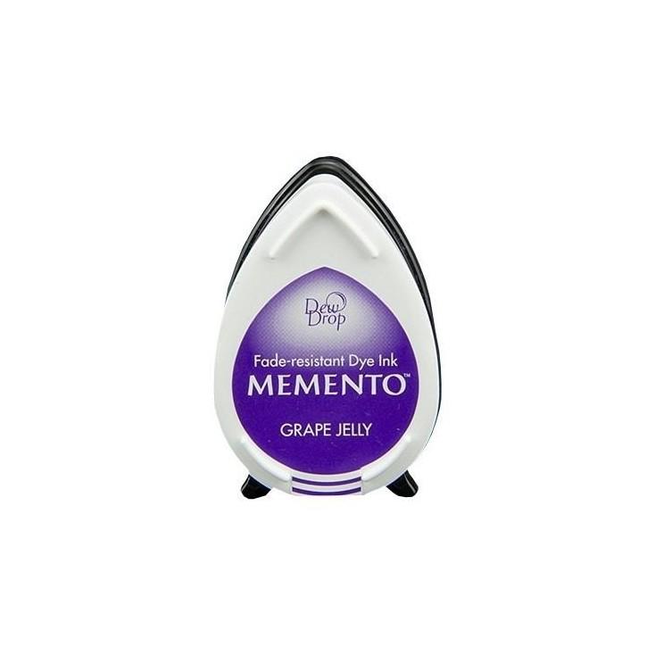 Tsukineko Memento Dew Drops - Tusz - GRAPE JELLY