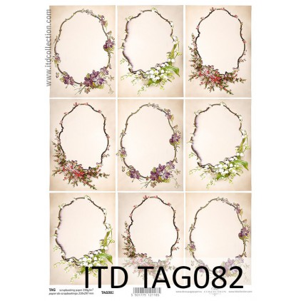 ITD Collection - Papier do scrapbookingu - TAG082