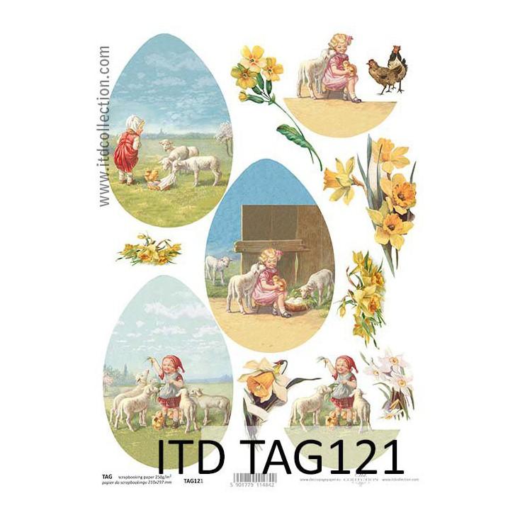 ITD Collection - Papier do scrapbookingu - TAG121
