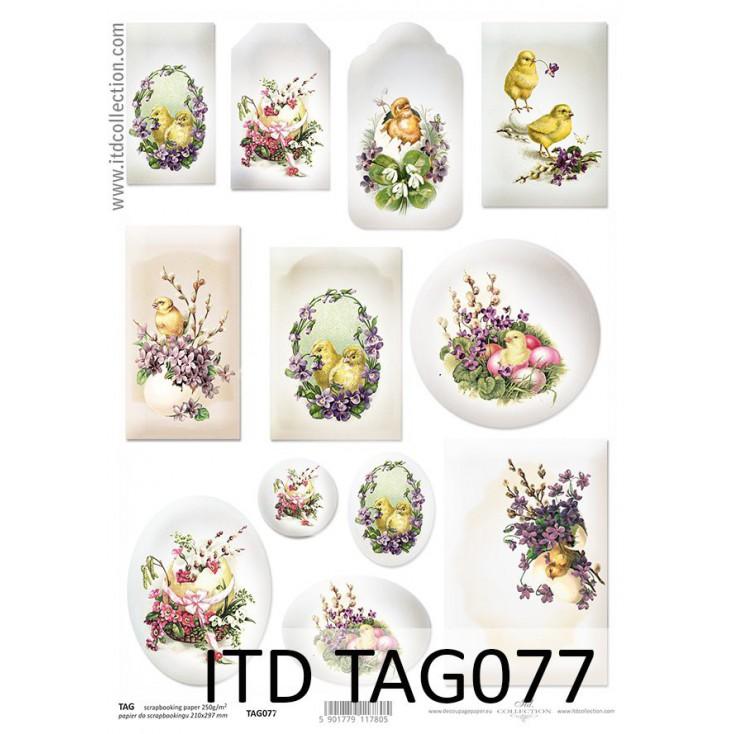 ITD Collection - Papier do scrapbookingu - TAG077