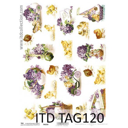 ITD Collection - Scrapbooking paper - TAG120