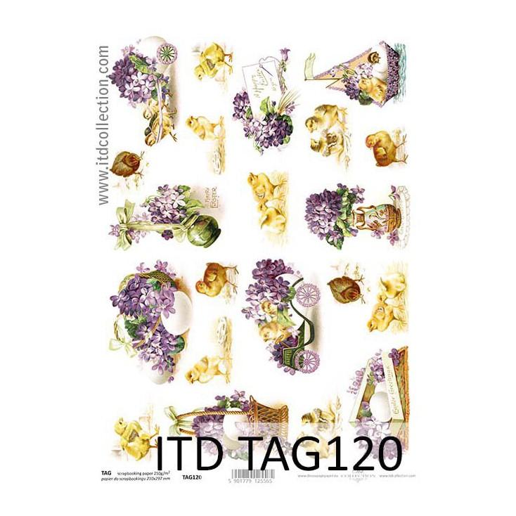ITD Collection - Papier do scrapbookingu - TAG120