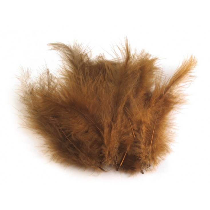 Ostrich feathers - Brown
