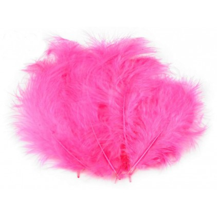 Ostrich feathers - Pink