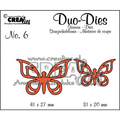 Crealies - Wykrojniki - Motyle 2