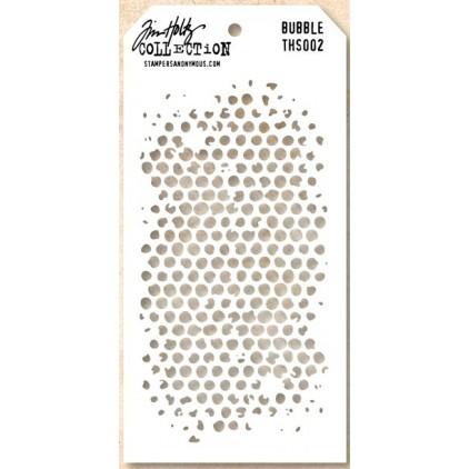 Tim Holtz Collection - Maska, szablon - Bubble