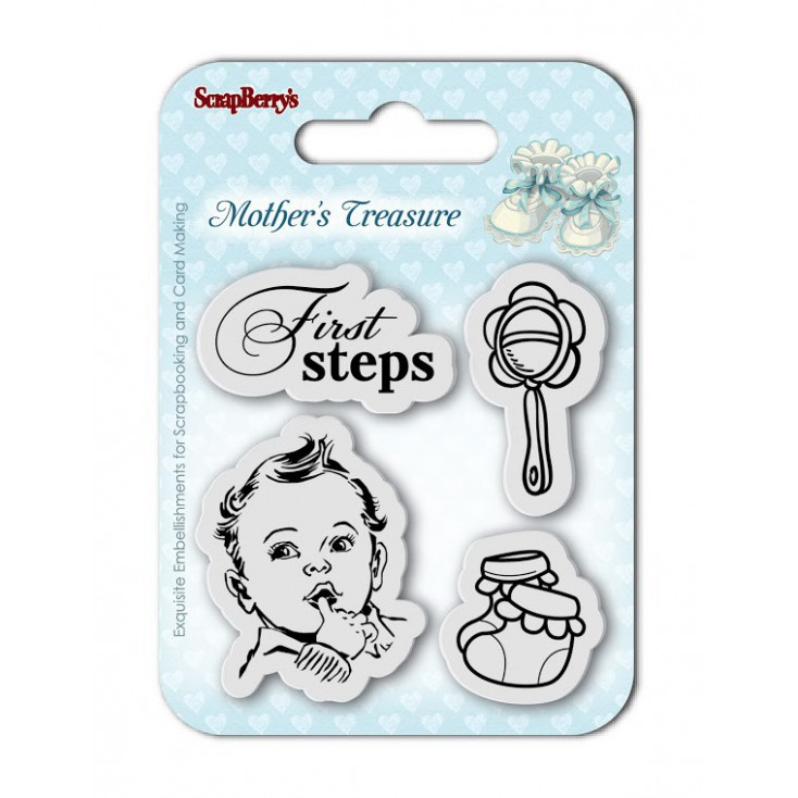 Scrapberry's - Set of clear stamps - Mother's Treasure No. 1