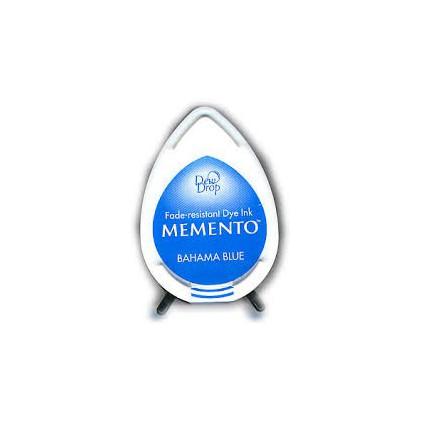 Tsukineko Memento Dew Drops - Tusz - BAHAMA BLUE