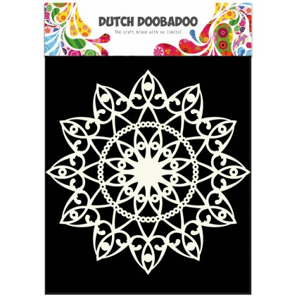 Dutch Doobadoo - Mask, stencil, template A4 - Doily