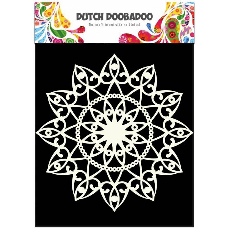 Dutch Doobadoo - Maska, szablon A4 - Serwetka