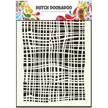 Dutch Doobadoo - Mask, stencil, template A5 - Fabric