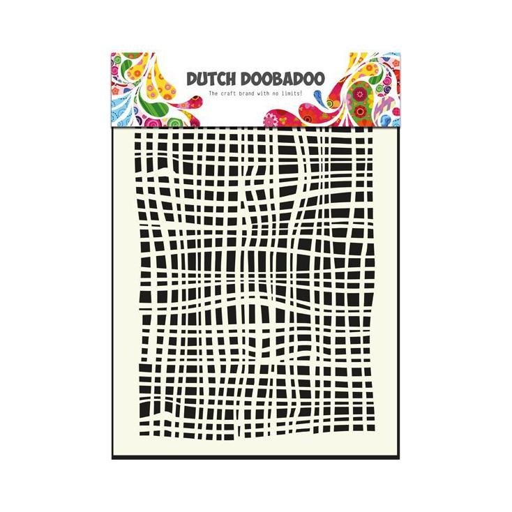 Dutch Doobadoo - Maska, szablon A5 - Tkanina