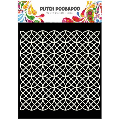 Dutch Doobadoo - Mask, stencil, template A5 - Geometric
