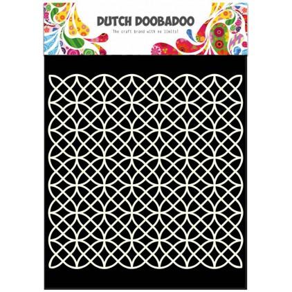 Dutch Doobadoo - Maska, szablon A5 - Geometric