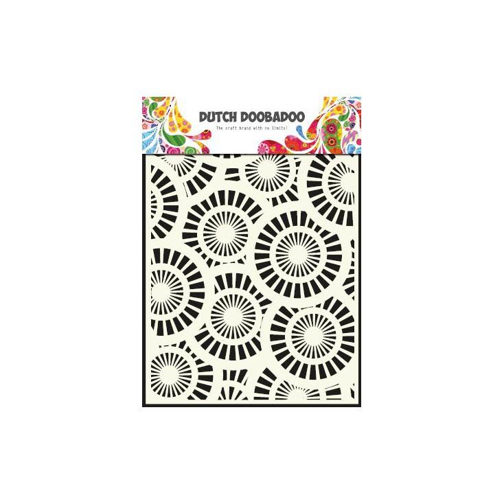 Dutch Doobadoo - Maska, szablon A5 - Circles